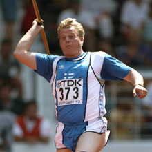 Seppo Räty, the best Javelin dude in the world
