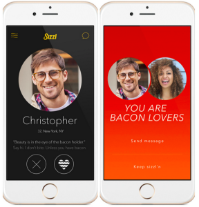 Tinder for bacon-lovers